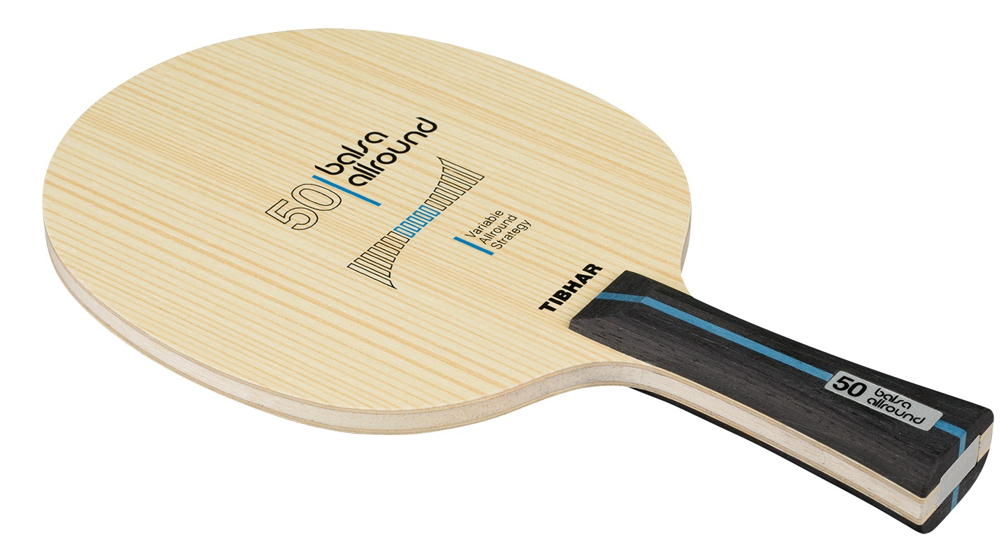 Tibhar Balsa Allround 50 Table Tennis Blade Bribar Table