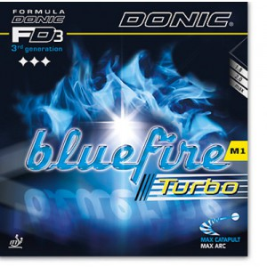 DONIC Bluefire M1 Turbo Table Tennis Rubber