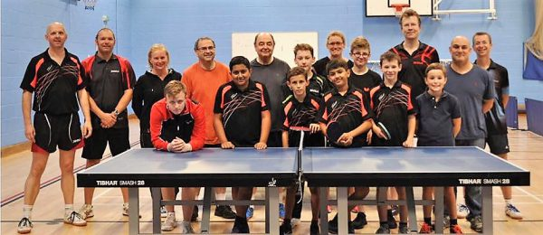 table tennis clubs uk