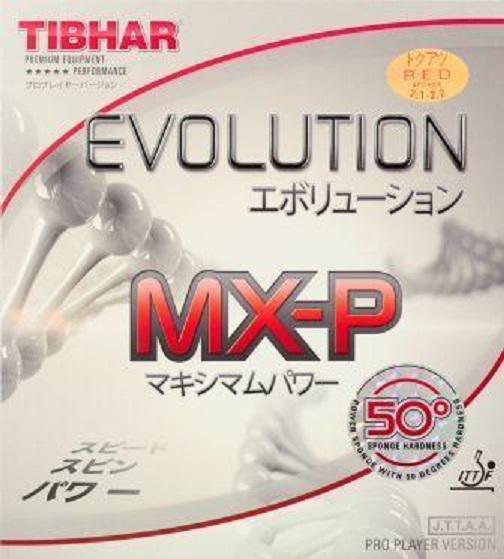 Evolution Mx P 50 Hard 50 176 Table Tennis Rubber