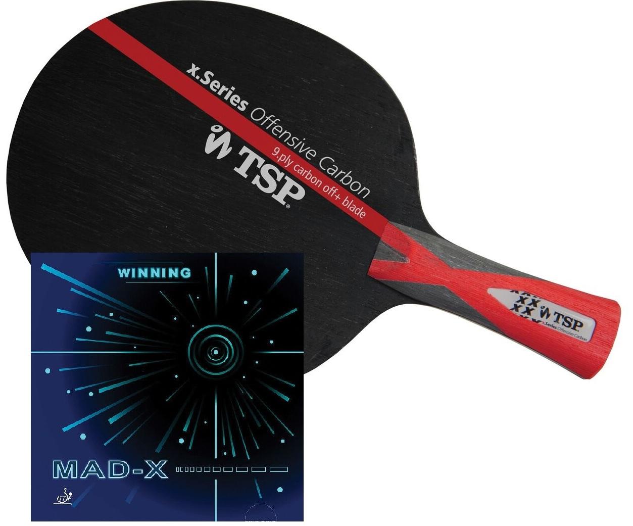 Mad X Table Tennis Bat