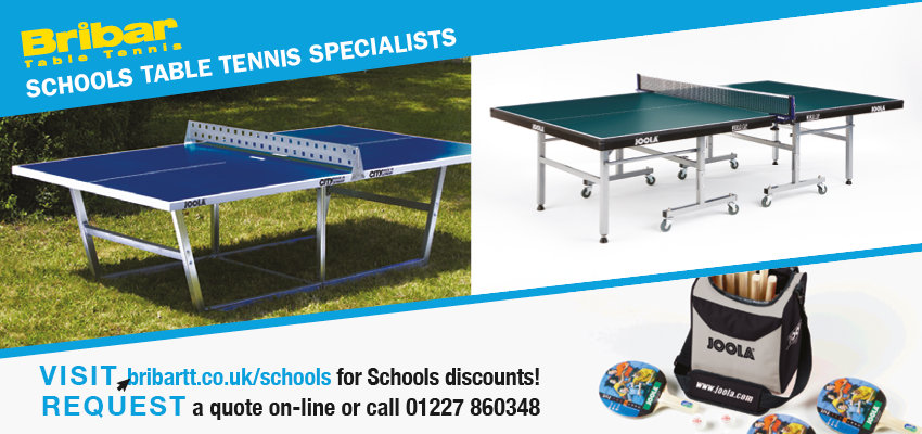 Schools Table Tennis from Bribar