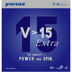 VICTAS V>15 Extra Table Tennis Rubber