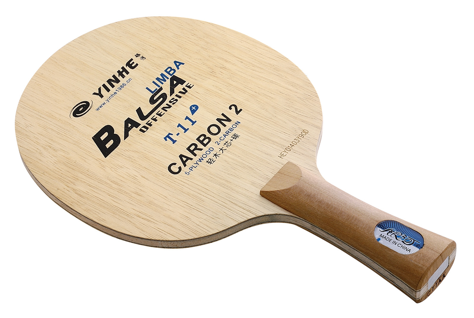 Yinhe T11 Balsa Carbon Table Tennis Blade