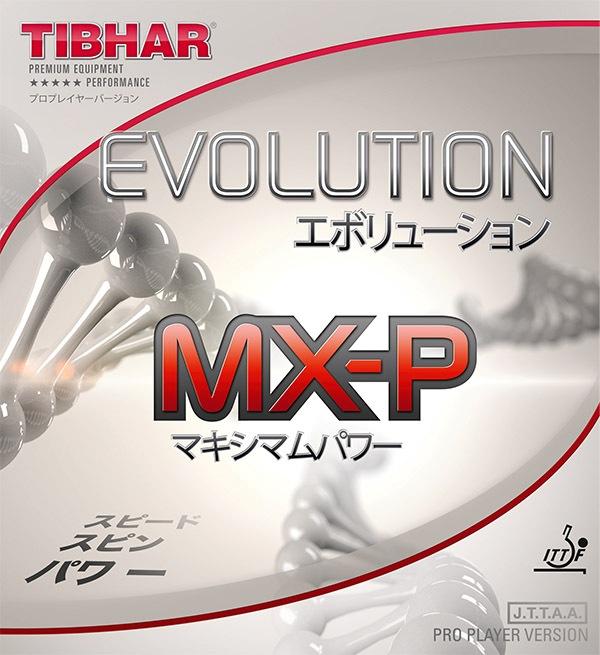 Tibhar Evolution Mx P Max Power Table Tennis Rubber