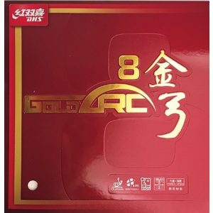 DHS Gold Arc 8 Table Tennis Rubber