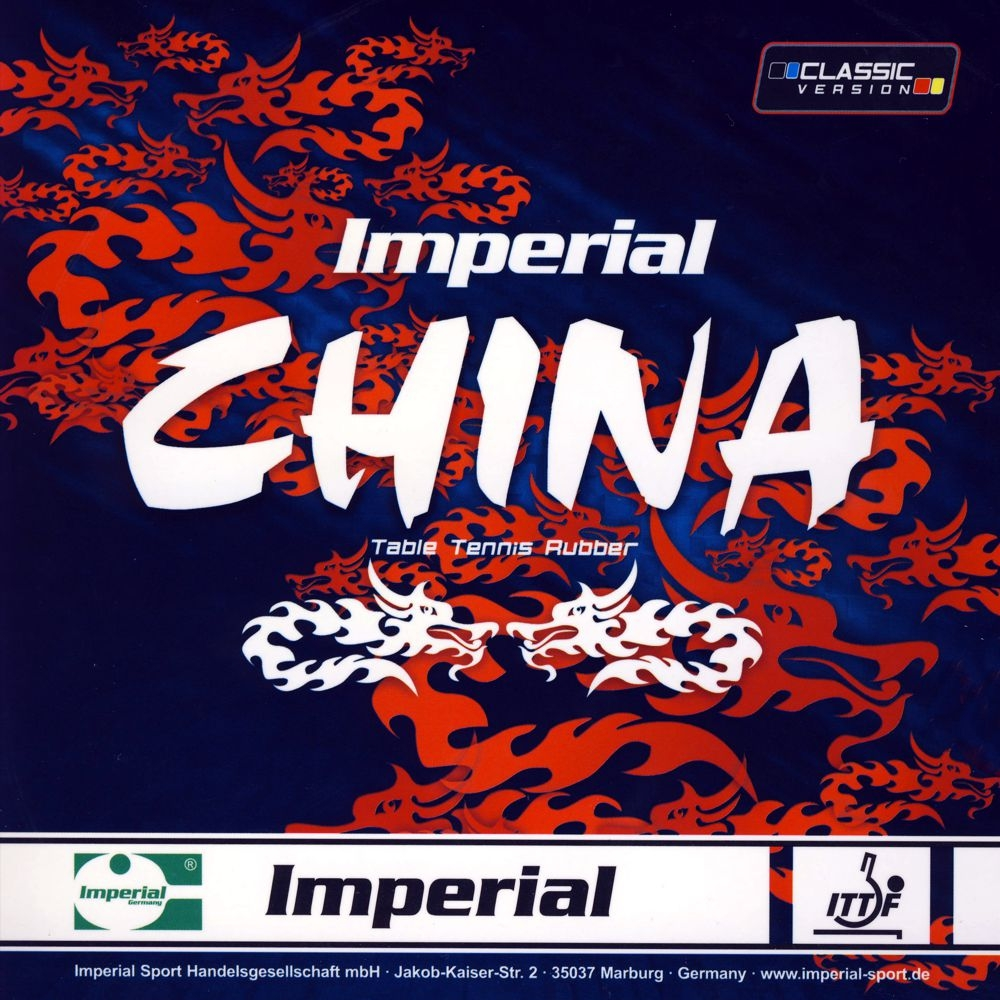 Imperial China Classic Table Tennis Rubber