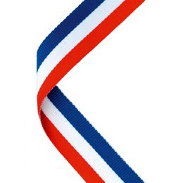 6. Medal ribbon red/white/blue <br>RRP £0.65 <b>SALE PRICE £0.52</b>