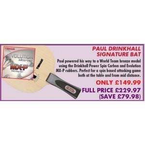 Paul Drinkhall Signature Bundle
