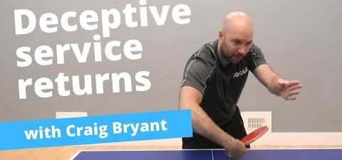 Nasty! How to confuse your opponent when returning serves (with Craig Bryant)