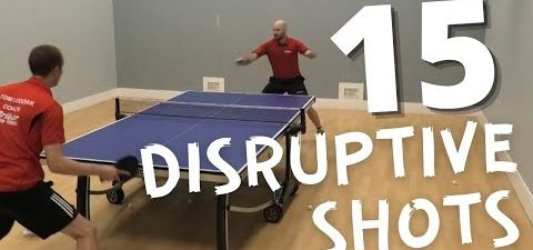 Craig Bryant's Top 15 Disruptive Table Tennis Shots