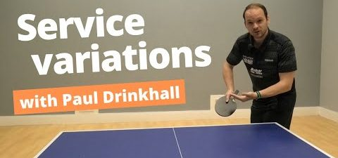 Service variation and disguise - tips from Paul Drinkhall