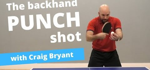 Hit winners with the BACKHAND PUNCH shot (feat Craig Bryant)